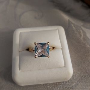 Cz Crystal Ring